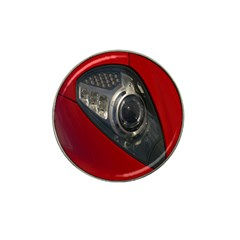 Auto Red Fast Sport Hat Clip Ball Marker (4 pack)