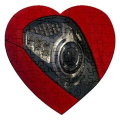 Auto Red Fast Sport Jigsaw Puzzle (Heart)