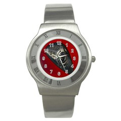 Auto Red Fast Sport Stainless Steel Watch