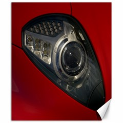 Auto Red Fast Sport Canvas 20  x 24