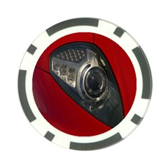 Auto Red Fast Sport Poker Chip Card Guard