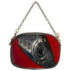 Auto Red Fast Sport Chain Purses (two Sides)