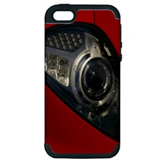 Auto Red Fast Sport Apple iPhone 5 Hardshell Case (PC+Silicone)