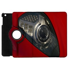 Auto Red Fast Sport Apple iPad Mini Flip 360 Case