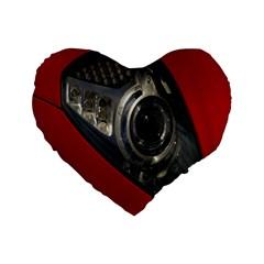 Auto Red Fast Sport Standard 16  Premium Heart Shape Cushions