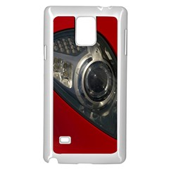 Auto Red Fast Sport Samsung Galaxy Note 4 Case (white)