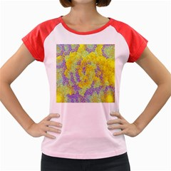 Backdrop Background Abstract Women s Cap Sleeve T-Shirt