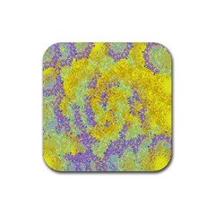 Backdrop Background Abstract Rubber Coaster (Square)