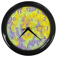 Backdrop Background Abstract Wall Clocks (Black)
