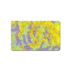 Backdrop Background Abstract Magnet (name Card)