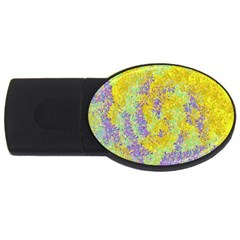 Backdrop Background Abstract Usb Flash Drive Oval (2 Gb)