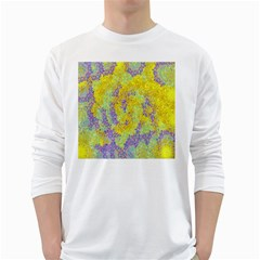 Backdrop Background Abstract White Long Sleeve T-Shirts