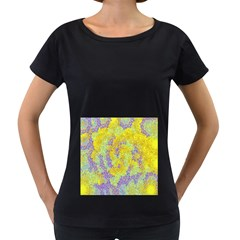 Backdrop Background Abstract Women s Loose-Fit T-Shirt (Black)