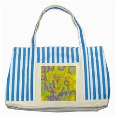 Backdrop Background Abstract Striped Blue Tote Bag
