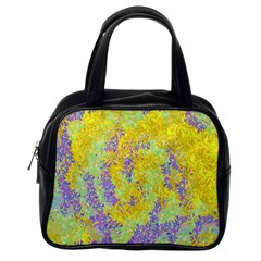 Backdrop Background Abstract Classic Handbags (One Side)