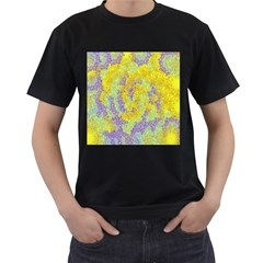 Backdrop Background Abstract Men s T-Shirt (Black)
