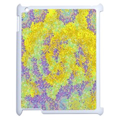 Backdrop Background Abstract Apple iPad 2 Case (White)