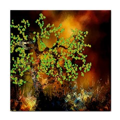 Backdrop Background Tree Abstract Tile Coasters