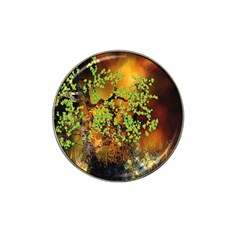 Backdrop Background Tree Abstract Hat Clip Ball Marker (4 pack)