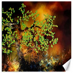 Backdrop Background Tree Abstract Canvas 12  X 12