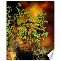 Backdrop Background Tree Abstract Canvas 16  x 20