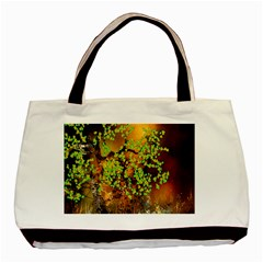 Backdrop Background Tree Abstract Basic Tote Bag (Two Sides)