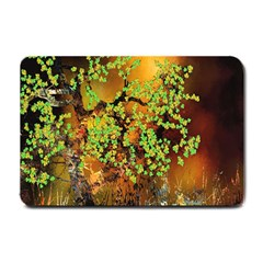 Backdrop Background Tree Abstract Small Doormat