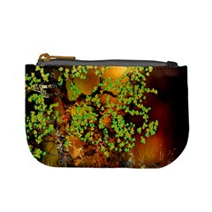 Backdrop Background Tree Abstract Mini Coin Purses