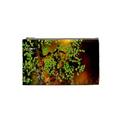 Backdrop Background Tree Abstract Cosmetic Bag (Small)