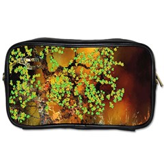 Backdrop Background Tree Abstract Toiletries Bags 2-Side