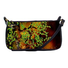 Backdrop Background Tree Abstract Shoulder Clutch Bags