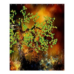 Backdrop Background Tree Abstract Shower Curtain 60  x 72  (Medium)
