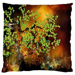 Backdrop Background Tree Abstract Large Cushion Case (One Side)