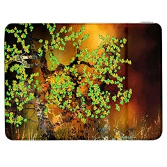 Backdrop Background Tree Abstract Samsung Galaxy Tab 7  P1000 Flip Case
