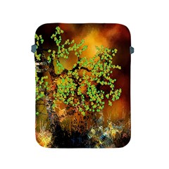Backdrop Background Tree Abstract Apple Ipad 2/3/4 Protective Soft Cases