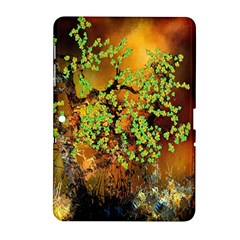 Backdrop Background Tree Abstract Samsung Galaxy Tab 2 (10 1 ) P5100 Hardshell Case