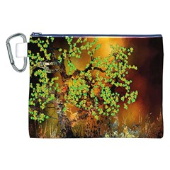 Backdrop Background Tree Abstract Canvas Cosmetic Bag (xxl)