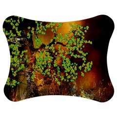 Backdrop Background Tree Abstract Jigsaw Puzzle Photo Stand (bow)