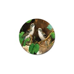 Backdrop Colorful Bird Decoration Golf Ball Marker (10 pack)