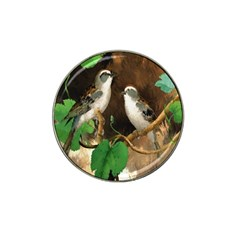 Backdrop Colorful Bird Decoration Hat Clip Ball Marker (10 pack)