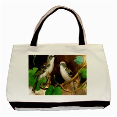Backdrop Colorful Bird Decoration Basic Tote Bag (Two Sides)
