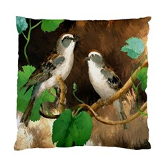 Backdrop Colorful Bird Decoration Standard Cushion Case (Two Sides)