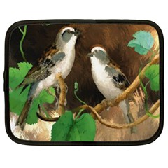 Backdrop Colorful Bird Decoration Netbook Case (XXL)