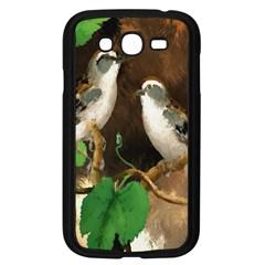 Backdrop Colorful Bird Decoration Samsung Galaxy Grand DUOS I9082 Case (Black)