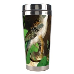 Backdrop Colorful Bird Decoration Stainless Steel Travel Tumblers
