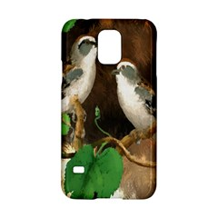 Backdrop Colorful Bird Decoration Samsung Galaxy S5 Hardshell Case