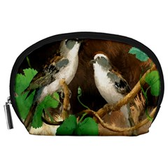 Backdrop Colorful Bird Decoration Accessory Pouches (Large)