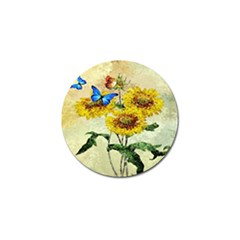 Backdrop Colorful Butterfly Golf Ball Marker (10 pack)