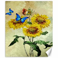 Backdrop Colorful Butterfly Canvas 20  x 24