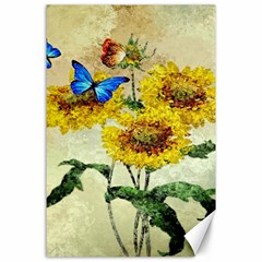 Backdrop Colorful Butterfly Canvas 24  X 36